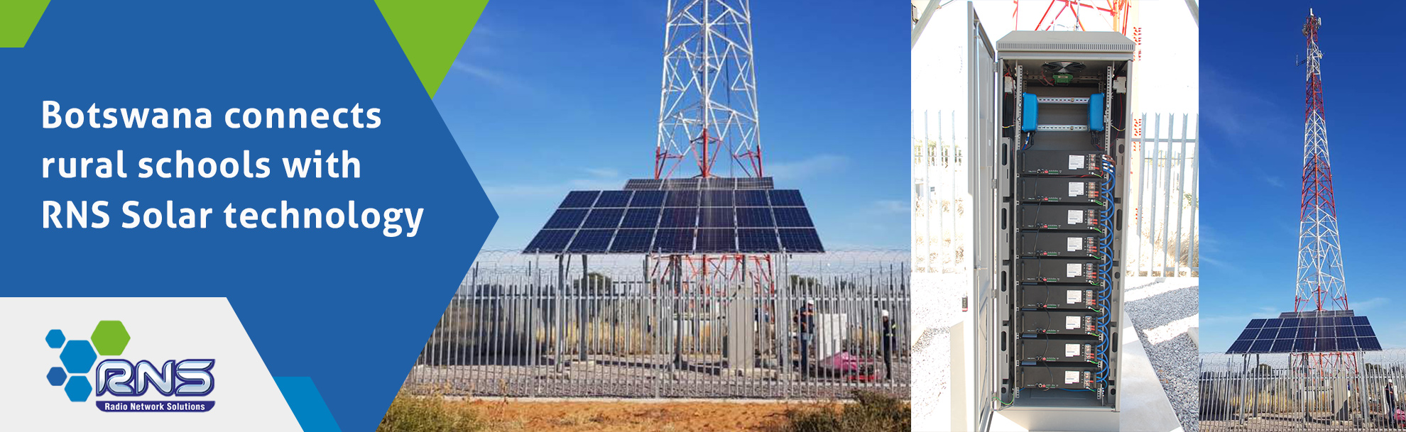 Botswana connects rural schools with RNS Solar technology