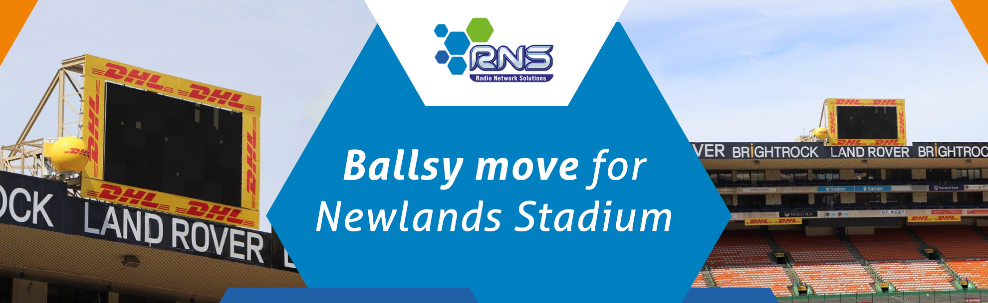 Ballsy move for Newlands Stadium